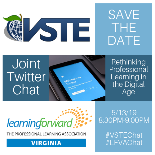 VSTE and LFVA Twitter Chat