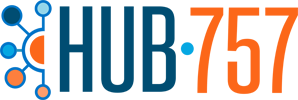 HUB-757 Logo