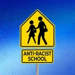 Anti-Racist School sign